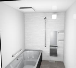 タカラスタンダード : 伸びの美浴室