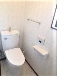 高級感のあるトイレになりました!