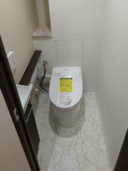 ホテルのようなトイレ。