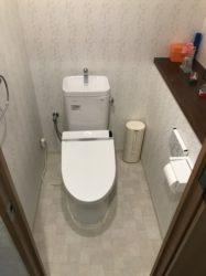 マンションのトイレをリフォーム