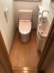 トイレ交換♪