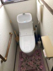 お手入れのしやすいトイレ
