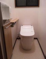 Panasonic アラウーノ+手洗いカウンターでお掃除ラクラク♪