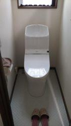 トイレを交換!