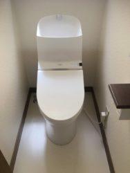 便座の故障からのトイレ交換