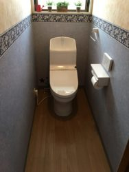 T様邸 トイレ取付工事