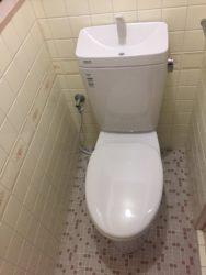 シンプルなのに快適トイレ!