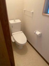 トイレを和式から洋式へ!!