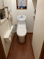水漏れからのトイレ交換
