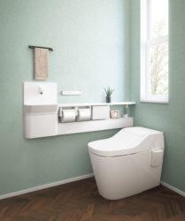 簡単!トイレに手洗いカウンターを!【広島市 安佐南区 安佐北区】