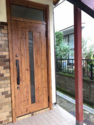 玄関ドアの交換!