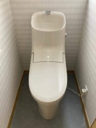 内扉までかわいいトイレ♡