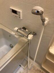 サーモスタット式の浴室水栓!